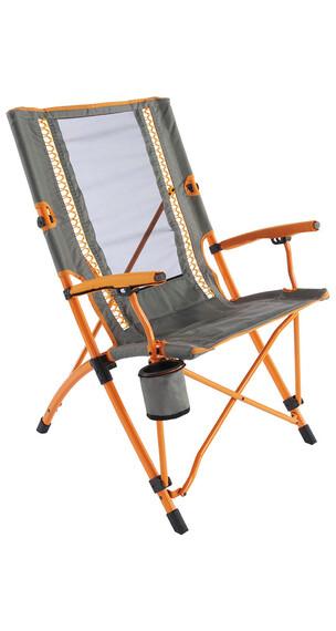 Coleman Bungee Camping zitmeubel grijs/oranje